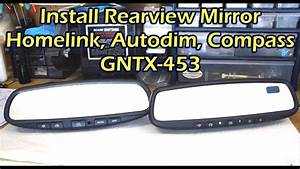 How To Wire Gentex Mirror 313