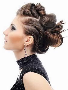 Chignon Cheveux Mi Long : photos chignons cheveux mi longs ~ Melissatoandfro.com Idées de Décoration