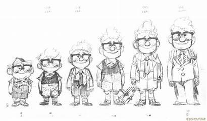Character 2009 Pixar Models Concept Disney