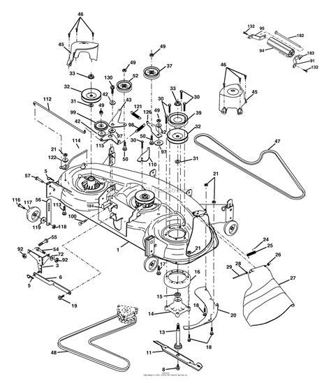 Deck Part Diagram by Husqvarna Yth 1848 Xp 954568489 2004 04 Parts Diagram