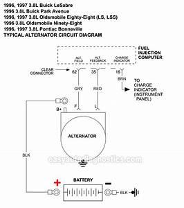 Alternator Circuit Diagram  1996