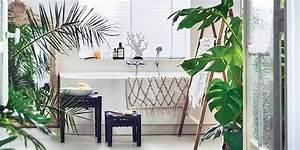 Plante Verte Salle De Bain : salle de bains naturelle nos id es d co marie claire ~ Melissatoandfro.com Idées de Décoration