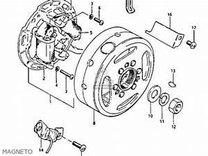 suzuki lt 125 1985 f parts list partsmanual partsfiche With diagram of suzuki atv parts 1985 lt250ef recoil starter diagram