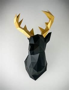 Trophée Animaux Origami : passion b tes cornes caroline aime ~ Teatrodelosmanantiales.com Idées de Décoration