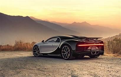 Bugatti Chiron 4k Wallpapers Rear Cars Supercar