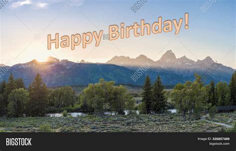 happy birthday nature image photo  trial bigstock