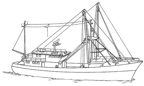 Small Boat Longline System by Commercial Fishing Boat Diagram