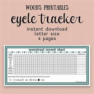 Menstrual Cycle Record Pdf Printable Period Calendar Cycle