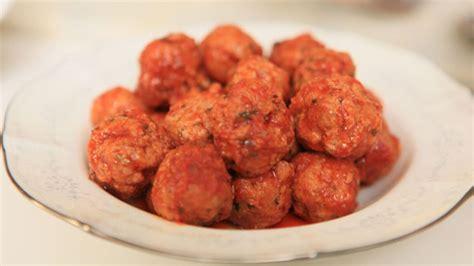 meat balls polpette recipe sbs food