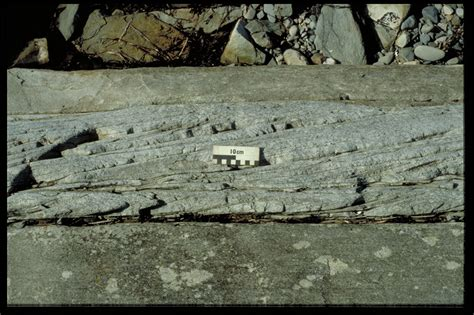 Trough Cross Bedding by Bedforms Produced By Currents