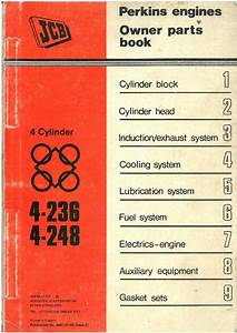 Perkins Engine 4 236 And 4 248 Parts Manual For The Jcb