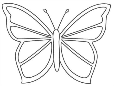 image result  coloring pages easy butterfly coloring