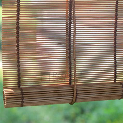 Bamboo Roller Blinds by Bamboo Matchstick Blinds Window Roller Shades