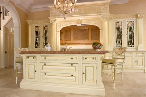 display clive christian regency painted kitchen island