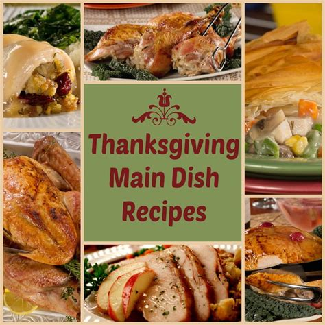 Thanksgiving Main Dishes Recipes 6 Delicious Diabetic