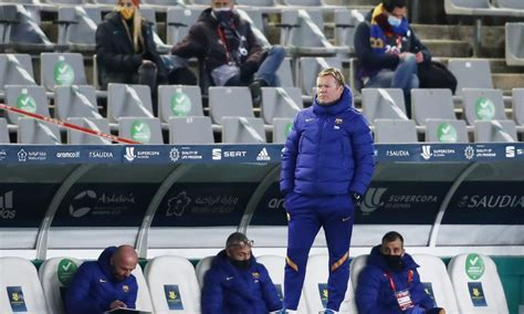 Koeman talks Puig, Dembélé, and Supercup final following ...