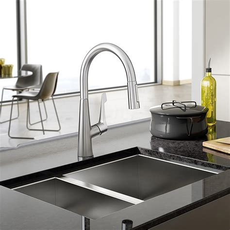 hans grohe kitchen faucet hansgrohe talis m pull kitchen faucet ebay