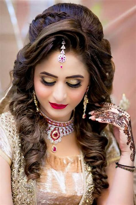 hair style girly bridal hairdo bridal hair indian