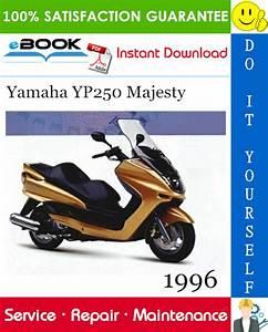 Best  U2606 U2606 1996 Yamaha Yp250 Majesty Scooter Service Repair