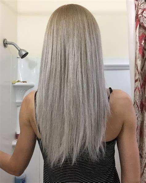 wella   toner  garnier lightest ash blonde diy ash