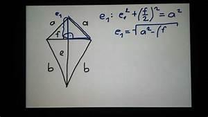 Tv Größe Berechnen : deltoid diagonalen berechnen youtube ~ Themetempest.com Abrechnung