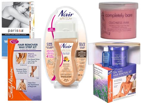 at home wax best at home leg waxing products