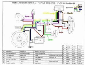 Montesa Wiring Harness Montesa Enduro H6 250 360 Enduro H7