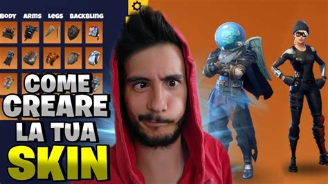 creare le skin  fortnite fortnite maker pazzox