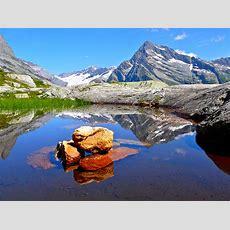 Farbenfrohe Steine Im Puchersee Foto & Bild Landschaft