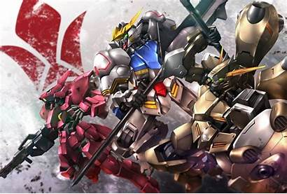 Gundam Barbatos Mikazuki Augus Blooded Orphans Iron