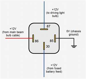 Simple Car Relay Wiring Diagram 4 Pin Relay Wiring Diagram