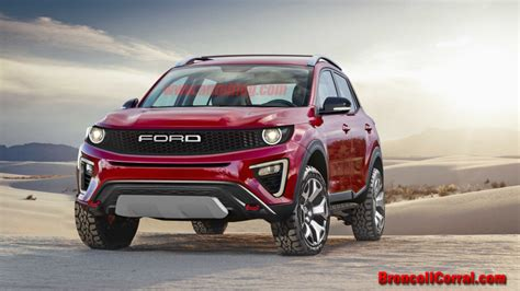 Ford Scout 2020 by 2020 Ford Bronco Renderings Bronco Ii Corral