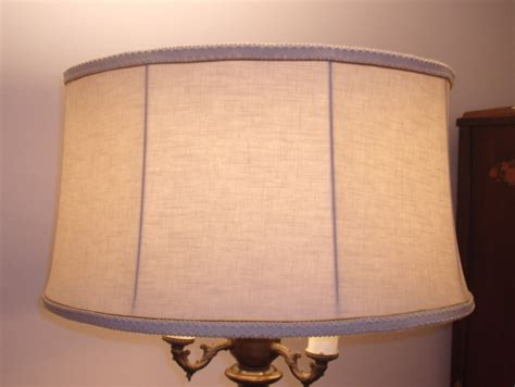 linen drum l shade image gallery linen drum l shade