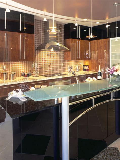 glass kitchen countertops hgtv photos hgtv