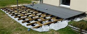 Poser Une Terrasse En Composite : pose terrasse composite ma terrasse ~ Melissatoandfro.com Idées de Décoration