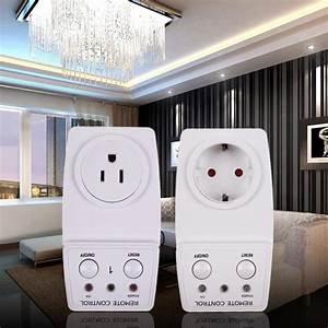 Us  Eu Plug 115v  60hz Wireless Remote Control Ac Power