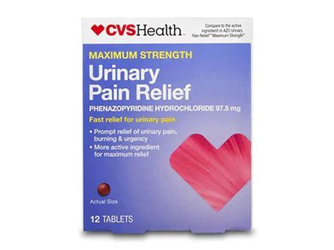CVS Health Maximum Strength Urinary Pain Relief Tablets ...