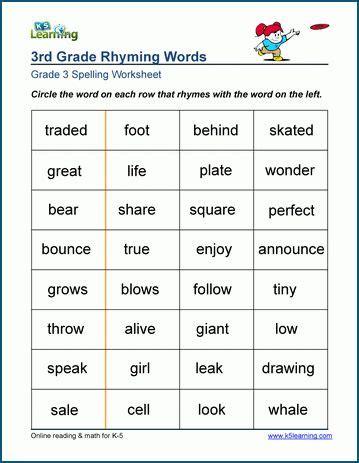 sample grade  spelling worksheet  images spelling