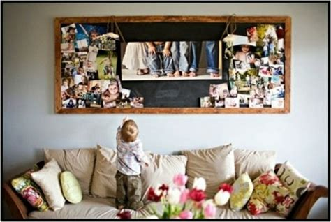 Fotos Aufhängen Wand by Familienfotos An Die Wand Wohnzimmer 252 Ber Sofa Fotow 228 Nde