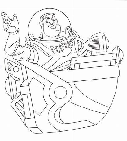 Disney Walt Colorir Imagens Coloring Buzz Lightyear