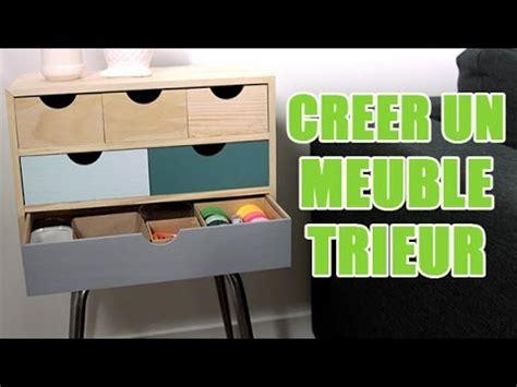 customiser un bureau tuto diy réaliser un meuble de rangement customisé avec