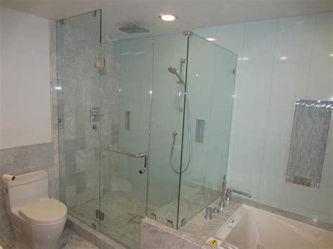 Glass Shower Enclosure by 3 8 Glass Shower Enclosure Installation Patriot Glass