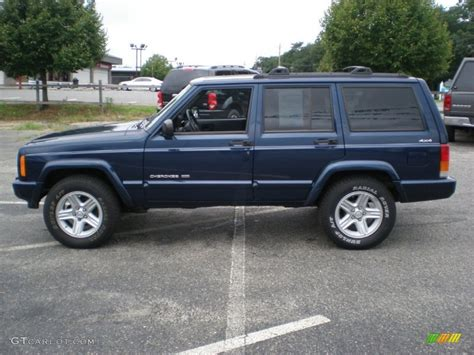 jeep cherokee blue 2000 jeep cherokee blue 200 interior and exterior images