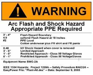 protection boundaries quotes quotesgram With how often is arc flash training required