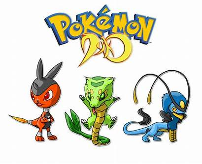 Pokemon Starters Dyko Deviantart