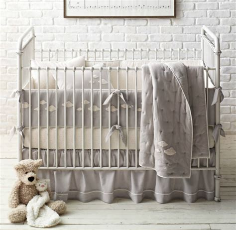 Restoration Hardware Crib Bedding crib bedding if money were no object co