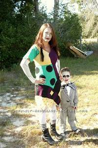 Great Mom and Child Couple Costume: Jack and Sally ...