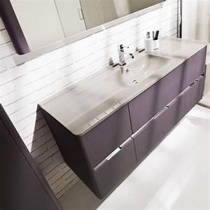 Ambiance Salle De Bain : meubles vasque de salle de bain dolce 146 6cmx56 4cm ~ Melissatoandfro.com Idées de Décoration