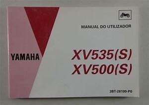 Manual Do Utilizador Yamaha Virago Xv 500  535 06  1993
