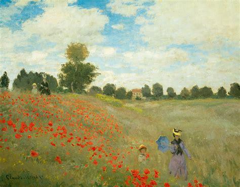 Kunstdrucke Bestellen by Claude Monet Mohnfeld Bei Argenteuil Poster Kunstdruck Bei